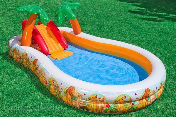 Le piscine gonfiabili parchi giochi ad aria - Piscine x bambini ...