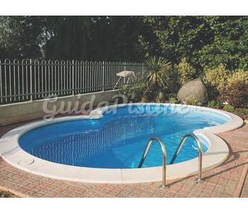 Piccole piscine da giardino idee di vasche da esterno for Interrare piscina intex