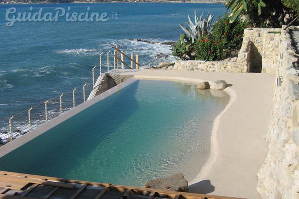 piscine biodesign una spiaggia nel proprio giardino. Black Bedroom Furniture Sets. Home Design Ideas