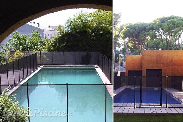 Recinzioni removibili per la sicurezza in piscina - Recinzioni per piscine ...