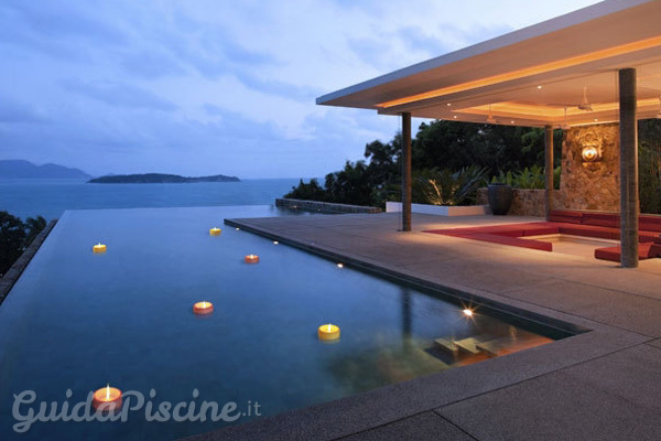 candele galleggianti un tocco magico per la tua piscina