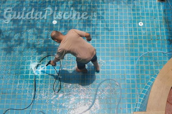 Come eliminare gli insetti in piscina?