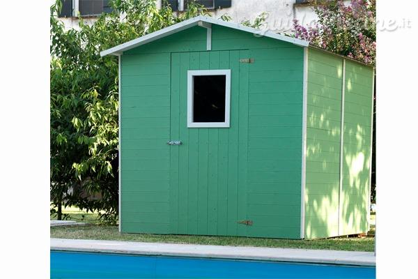 Proteggi il locale tecnico con una casetta di design - Locale tecnico piscina ...
