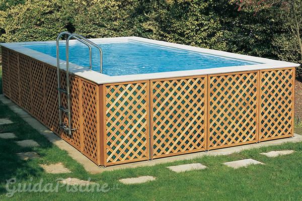 Piscine fuoriterra fisse vs piscine smontabili - Piscine smontabili ...
