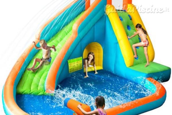 Le piscine gonfiabili parchi giochi ad aria - Bambini in piscina a 3 anni ...