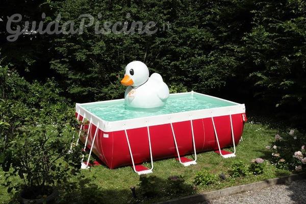 La piscina smontabile si colora e diventa fashion - Piscina smontabile ...