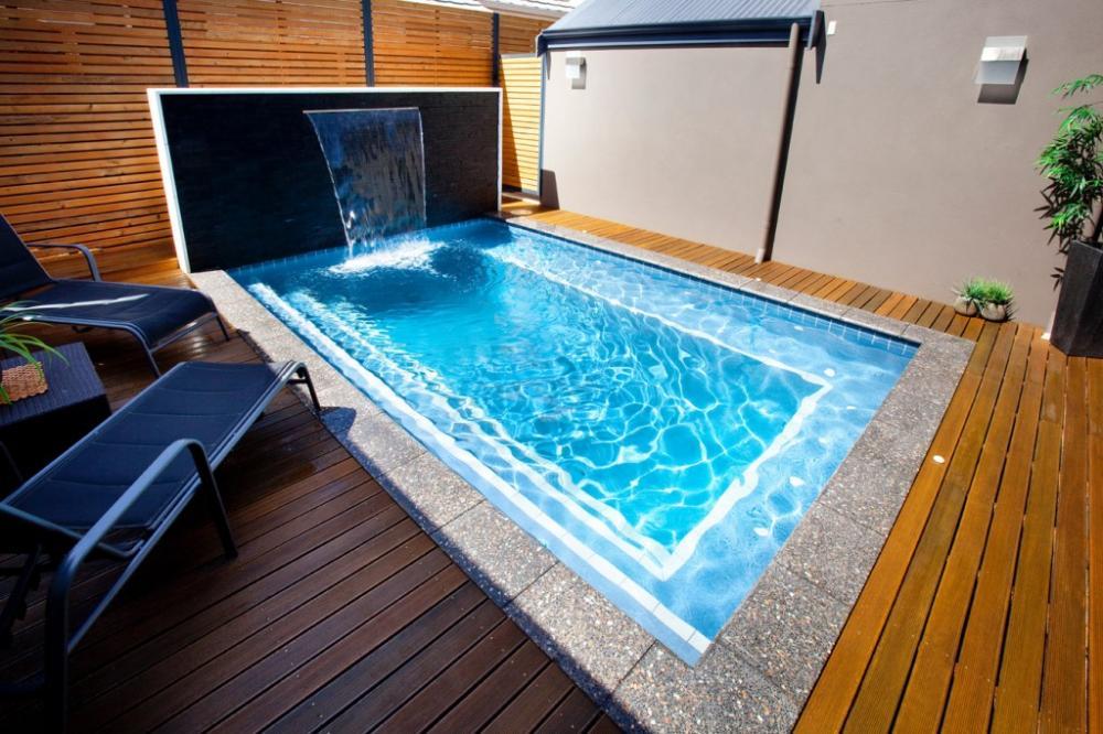 Piccole piscine per piccoli giardini - Piccole piscine in casa ...