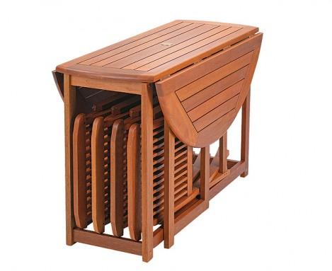 Sedie e tavoli pieghevoli per preparare la piscina alla for Sedie richiudibili