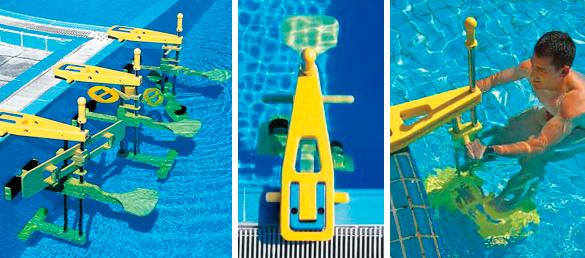 I migliori attrezzi per praticare fitness in piscina for Accesorios para piscinas