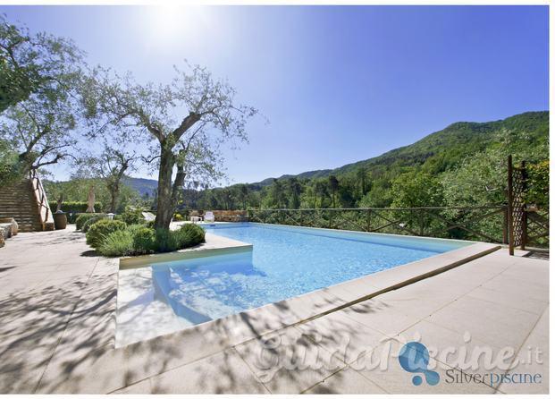 Silver piscine for Piscina 3 re