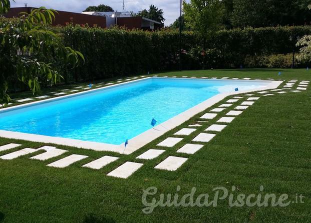 Immagini di previtali piscine - Piscina cemento armato ...