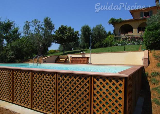 Immagini di borgoblu srl for Catalogo piscine fuori terra