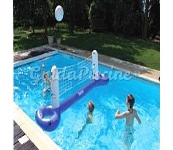 Rete da pallavolo gonfiabile 1000 piscine - Rete pallavolo piscina ...