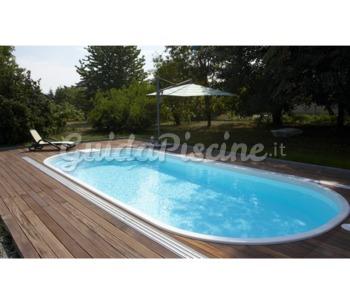 Piscina in vetroresina modello adria palbo piscine - Piscine prefabbricate vetroresina ...