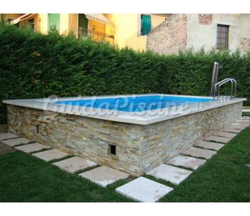 Piscina fuoriterra laghetto dolcevita country alma piscine - Piscine laghetto prezzi ...