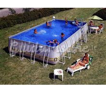 piscina riva a forma di otto