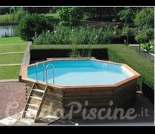 Piscina rettangolare in legno for Catalogo piscine fuori terra