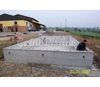 Piscina in cemento armato - Piscina cemento armato ...