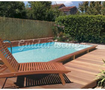 Piscina fuoriterra in legno modello lipari palbo piscine - Impianto filtrazione piscina prezzo ...