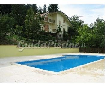 Piscina in cemento armato modello georgia palbo piscine - Piscine in cemento ...